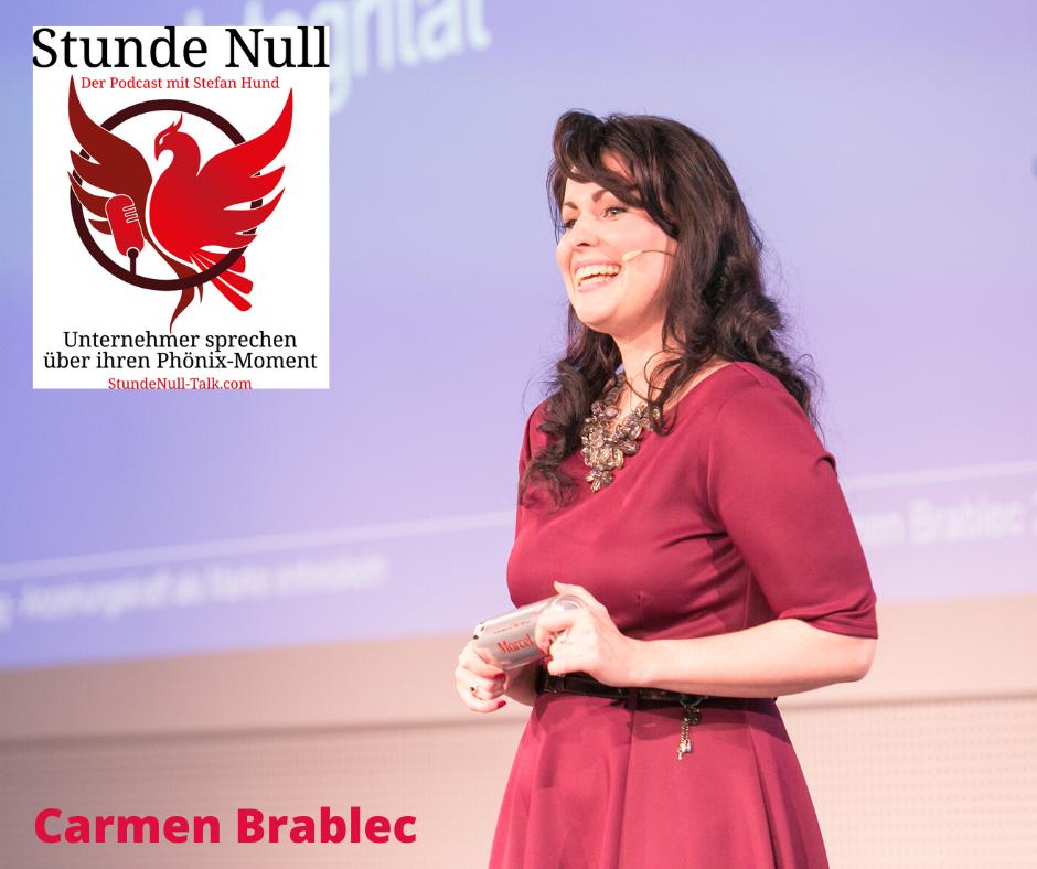 Carmen Brablec in Stundenull-Talk